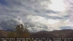 view from Horseshoe Bend, Idaho CAM2 on 2018-11-05