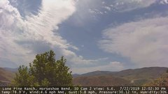 view from Horseshoe Bend, Idaho CAM2 on 2019-07-22