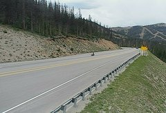 view from 4 - Highway 50 Road Conditions on 2018-07-12