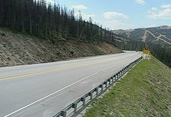 view from 4 - Highway 50 Road Conditions on 2018-07-30