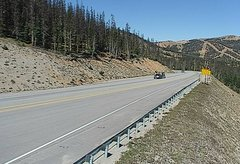 view from 4 - Highway 50 Road Conditions on 2018-09-12