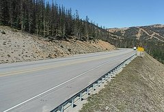 view from 4 - Highway 50 Road Conditions on 2018-09-13