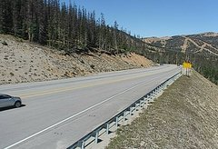 view from 4 - Highway 50 Road Conditions on 2018-09-14