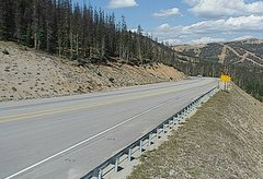 view from 4 - Highway 50 Road Conditions on 2018-09-17
