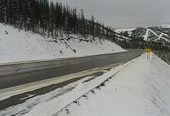 view from 4 - Highway 50 Road Conditions on 2018-11-04