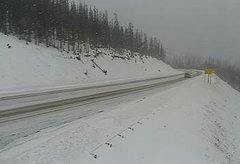 view from 4 - Highway 50 Road Conditions on 2018-11-11