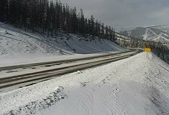 view from 4 - Highway 50 Road Conditions on 2018-11-12