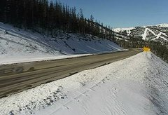 view from 4 - Highway 50 Road Conditions on 2018-11-14