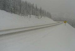 view from 4 - Highway 50 Road Conditions on 2018-12-31