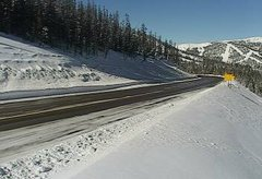 view from 4 - Highway 50 Road Conditions on 2019-01-14