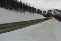 view from 4 - Highway 50 Road Conditions on 2019-01-21