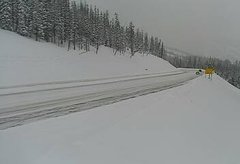 view from 4 - Highway 50 Road Conditions on 2019-01-28