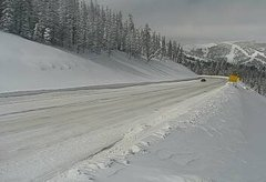 view from 4 - Highway 50 Road Conditions on 2019-02-20
