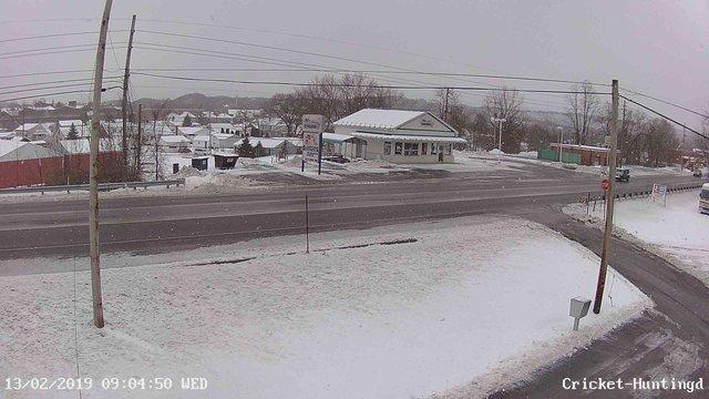 time-lapse frame, William Penn Highway webcam