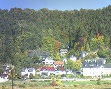 view from Webcam in Bad Schandau, Krippen & Postelwitz on 2018-10-11