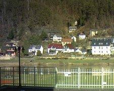 view from Webcam in Bad Schandau, Krippen & Postelwitz on 2019-02-14