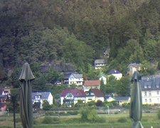 view from Webcam in Bad Schandau, Krippen & Postelwitz on 2019-08-09