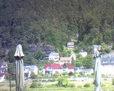 view from Webcam in Bad Schandau, Krippen & Postelwitz on 2019-08-14