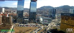 view from Sarajevo on 2019-03-04