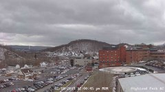 view from Highland Park Hose Co. #2 on 2019-02-18