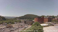 view from Highland Park Hose Co. #2 on 2019-07-13
