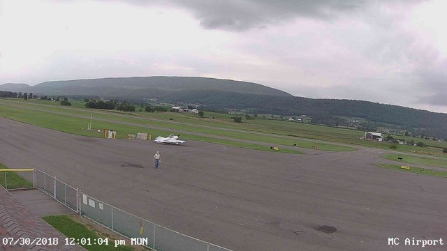 view from Mifflin County Airport (west) on 2018-07-30
