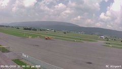 view from Mifflin County Airport (west) on 2018-08-06