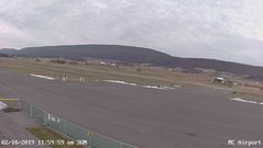 view from Mifflin County Airport (west) on 2019-02-10