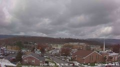 view from Highland Park Hose Co. #1 on 2018-11-19
