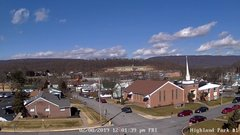 view from Highland Park Hose Co. #1 on 2019-02-08