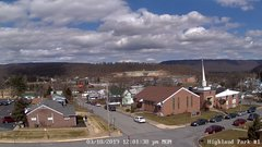 view from Highland Park Hose Co. #1 on 2019-03-18