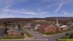 view from Highland Park Hose Co. #1 on 2019-04-13