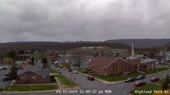 view from Highland Park Hose Co. #1 on 2019-04-15