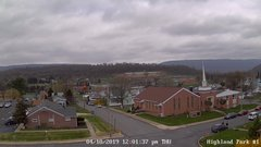 view from Highland Park Hose Co. #1 on 2019-04-18