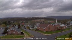 view from Highland Park Hose Co. #1 on 2019-04-19