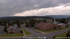 view from Highland Park Hose Co. #1 on 2019-06-16