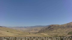 view from Horseshoe Bend, Idaho CAM1 on 2018-07-12