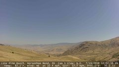 view from Horseshoe Bend, Idaho CAM1 on 2018-07-19