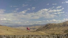 view from Horseshoe Bend, Idaho CAM1 on 2018-09-13
