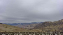 view from Horseshoe Bend, Idaho CAM1 on 2018-11-04