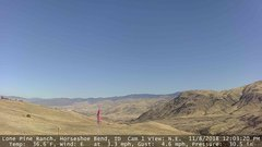 view from Horseshoe Bend, Idaho CAM1 on 2018-11-08