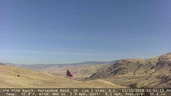 view from Horseshoe Bend, Idaho CAM1 on 2018-11-15
