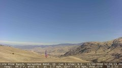 view from Horseshoe Bend, Idaho CAM1 on 2018-11-16