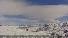 view from Horseshoe Bend, Idaho CAM1 on 2019-02-10