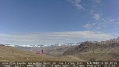 view from Horseshoe Bend, Idaho CAM1 on 2019-03-04