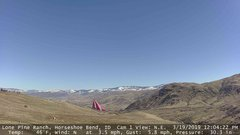 view from Horseshoe Bend, Idaho CAM1 on 2019-03-19