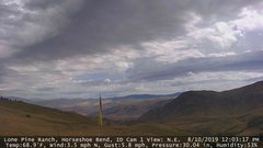view from Horseshoe Bend, Idaho CAM1 on 2019-08-10