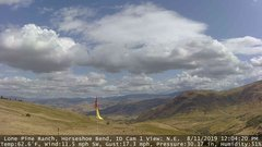 view from Horseshoe Bend, Idaho CAM1 on 2019-08-11