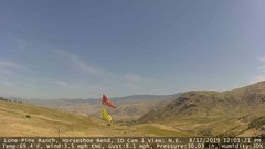 view from Horseshoe Bend, Idaho CAM1 on 2019-08-17