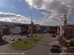 view from 13 East Market Street - Lewistown PA (west) on 2018-10-30